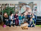 Germany. The Jellinek family hosts Syrian Muslim Kinan from Damascus, in Berlin Mitte.