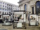 Installation view of St Martin-in-the-Fields exhibition